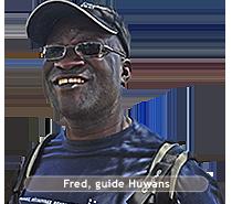 Fred ONDINYO - guide Huwans Kenya